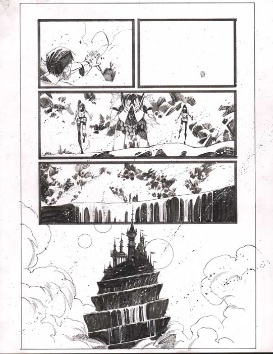 Black Science Issue 7 Page 24 by Matteo Scalera
