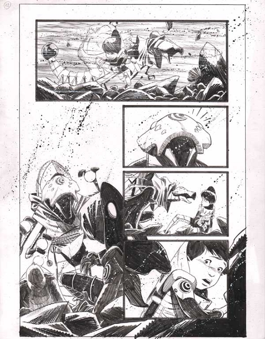 Black Science Issue 9 Page 12 by Matteo Scalera