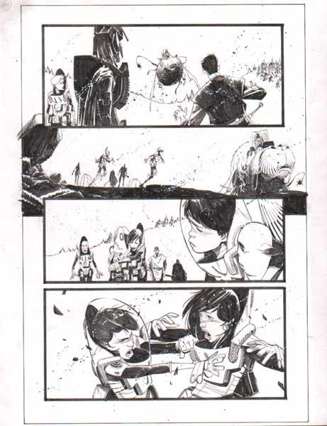 Black Science Issue 10 page 19 by Matteo Scalera