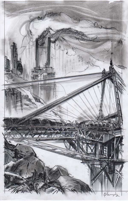 Command & Conquer Bridge by Tommy Lee Edwards