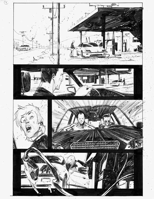 Dead Body Road Issue 1 p.07 by Matteo Scalera