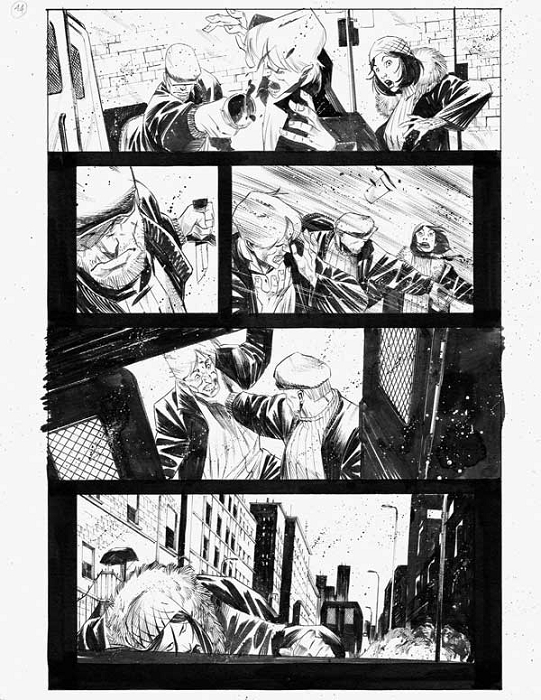 Dead Body Road Issue 1 p.14 by Matteo Scalera
