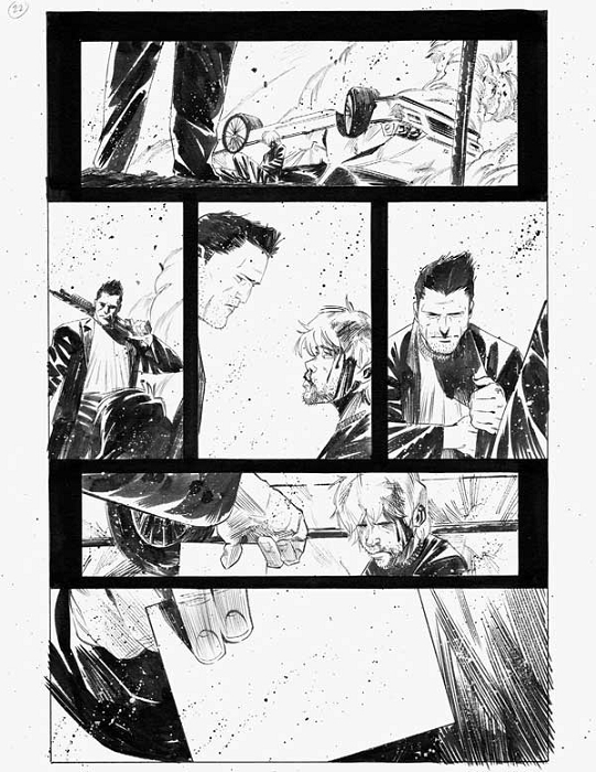 Dead Body Road Issue 1 p.22 by Matteo Scalera
