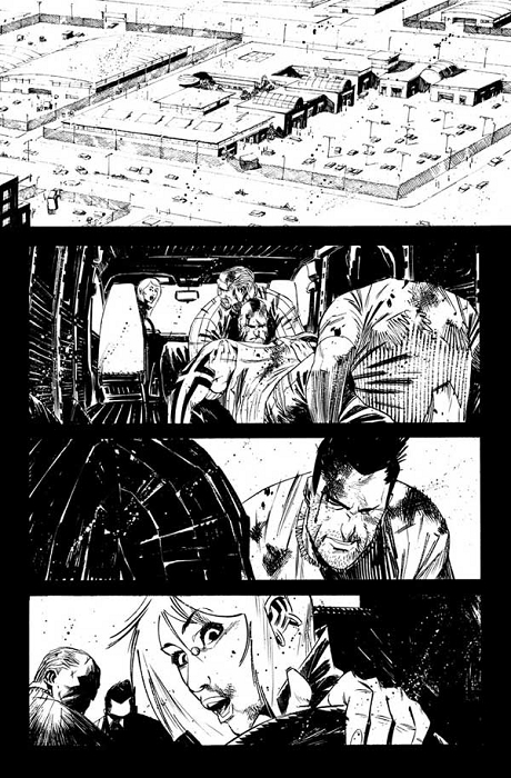 Dead Body Road Issue 4 p.01 by Matteo Scalera