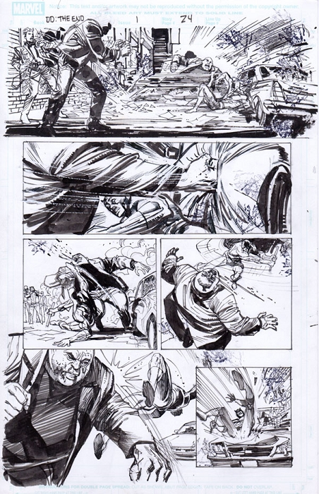 End Of Days Issue 1 p.24 by Klaus Janson