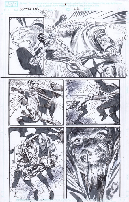 End Of Days Issue 1 p.26 by Klaus Janson