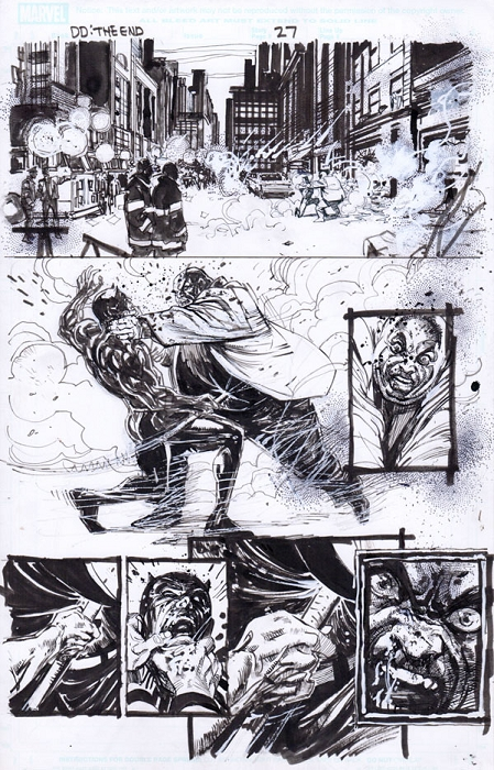 End Of Days Issue 1 p.27 by Klaus Janson