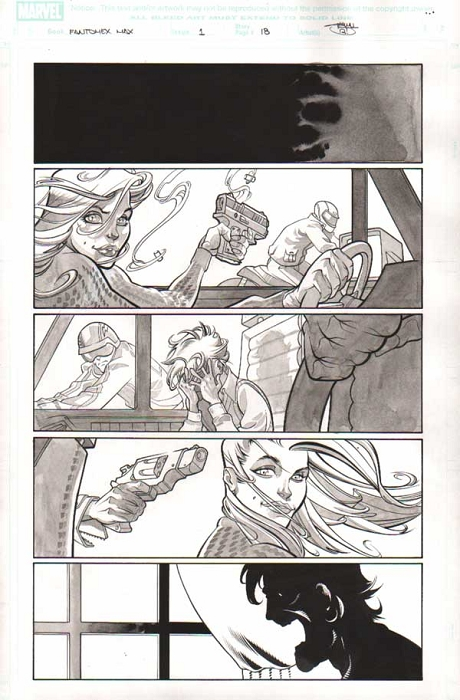 Fantomex Max Issue 1 p.18 by Shawn Crystal