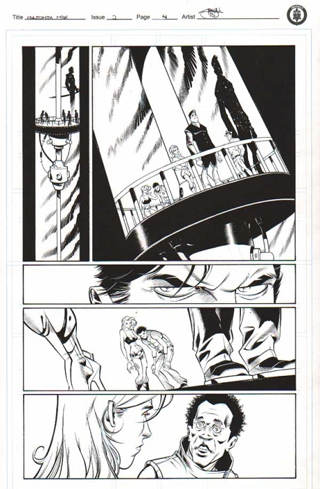 Fantomex Max Issue 2 p.04 by Shawn Crystal