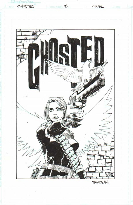 Ghosted #18 Cover by Dan Panosian