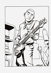 Hank Venture plays Bass by Dave Johnson
