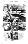 All-New Hawkeye #2 p.18-19 by Ramon Perez