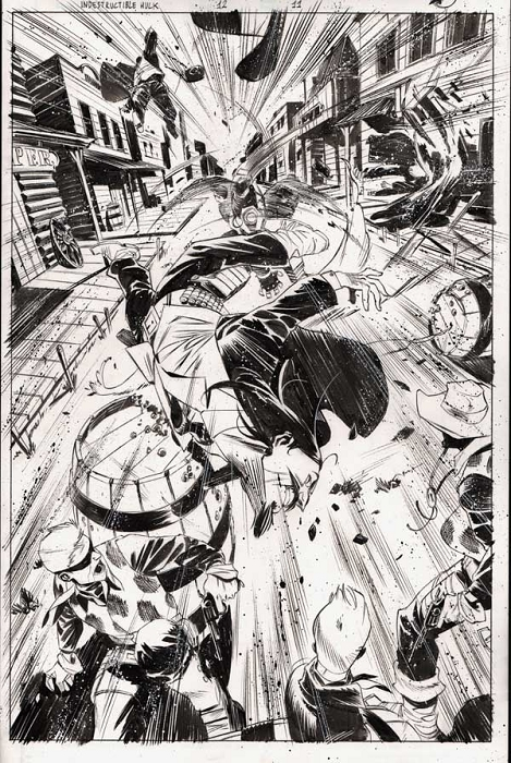 Indestructible Hulk 12/11 by Matteo Scalera