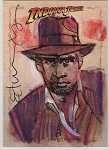 Indiana Jones Sketch Card 1 by Tommy Lee Edwards
