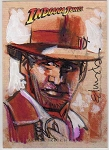 Indiana Jones Sketch Card 2 by Tommy Lee Edwards