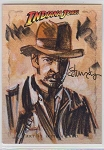 Indiana Jones Sketch Card 3 by Tommy Lee Edwards