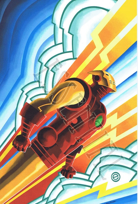 Iron Man Deco Print by Eric Canete