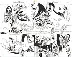 John Carter #1 p.06-7 by Ramon Perez