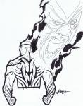 BloodHound #5 by Dave Johnson Comic Art