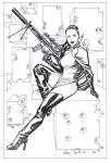 Agents of Atlas #10 by Dave Johnson Comic Art