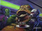 Jabba The Hutt by Bros Hildebrandt