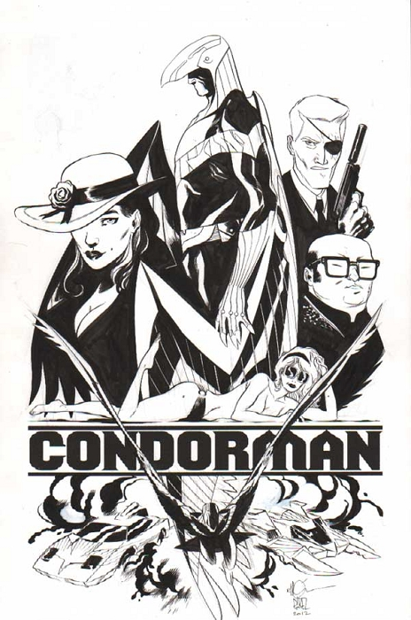 Condorman by Ramon Perez