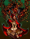 Red Riding Hood Print by Eric Canete
