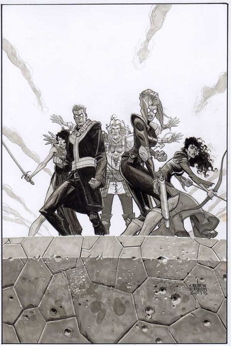 Secret Wars: Siege #1 Cover by Andrew Robinson