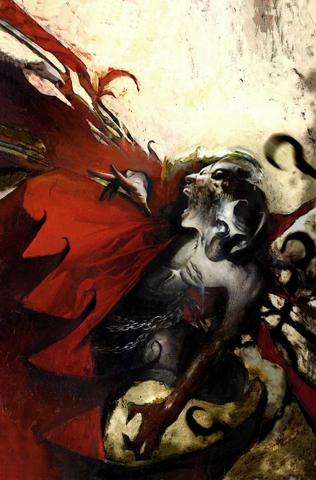 Limited-Edition Spawn Giclee by Jason Shawn Alexander