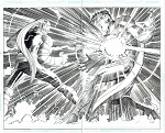 Superman Issue #34 p.14-15 by Klaus Janson