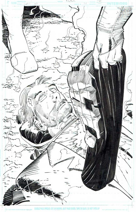 Superman Issue #34 p.24 by Klaus Janson