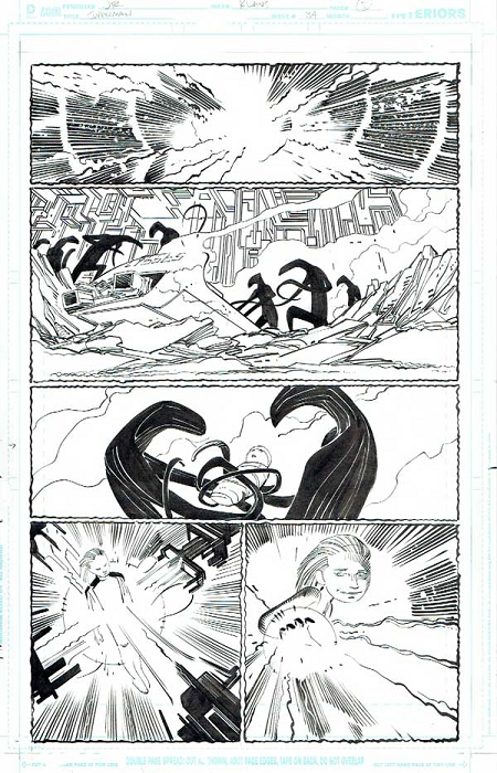 Superman Issue #34 p.05 by Klaus Janson