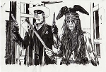 The Lone Ranger & Tonto by Tommy Lee Edwards