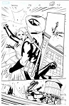 Deadpool #293 p.12 Artist Proof by Matteo Lolli