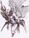 Archangel by Eric Canete Comic Art