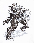 Black Panther by Eric Canete