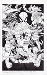 Peter Parker: The Spec Spider-Man #300 by Adam Kubert Comic Art