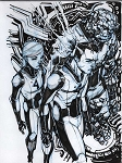 Fantastic Four by Eric Canete Comic Art