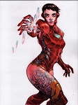 Iron Woman by Eric Canete Comic Art