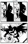 Legends of the Dark Knight #84 p.19-20 by Wade von Grawbadger