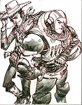 Woody & Buzz by Eric Canete