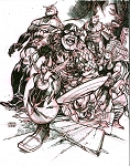 Avengers #4 Cover Recreation by Eric Canete
