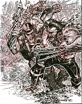 Punisher War Journal #7 Recreation by Eric Canete