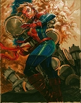 Capt. Marvel by Eric Canete