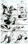 Deadpool #9 p.04 Artist Proof by Matteo Lolli