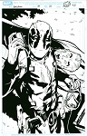 Deadpool #10 p.20 Artists Proof by Matteo Lolli