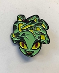 Limited Edition Medusa Pin by Mindy Lee