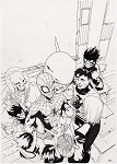 Spider-Man & the X-Men #1 by Bengal