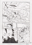 Adv of Supergirl #1 p.01 by Bengal Comic Art