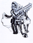 Captain Phasma by Eric Canete